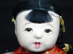 Антикварная японская девочка. Ярмарка Мастеров - ручная работа, handmade.
