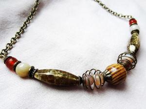 Скидки на бусы, ожерелья и цепочки. Ярмарка Мастеров - ручная работа, handmade.