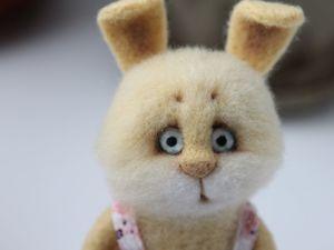 Аукцион на зайчика и куколку Сонечку!. Ярмарка Мастеров - ручная работа, handmade.