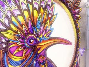 Картина Райская птица. Ярмарка Мастеров - ручная работа, handmade.
