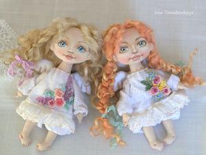 Из какой ткани сшить текстильную куклу: видеоурок. Ярмарка Мастеров - ручная работа, handmade.