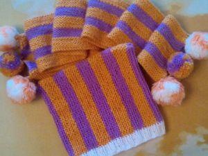 Вяжем простую детскую шапочку на весну. Ярмарка Мастеров - ручная работа, handmade.