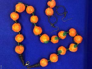 Новая работа Я люблю апельсины. Ярмарка Мастеров - ручная работа, handmade.