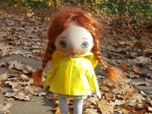 Делаем дождевик и резиновые сапожки для куклы. Ярмарка Мастеров - ручная работа, handmade.