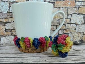 Декорируем бокал «Корзина винограда»: видеоурок. Ярмарка Мастеров - ручная работа, handmade.