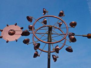 Ветряная кинетическая скульптура  «Tres». Ярмарка Мастеров - ручная работа, handmade.