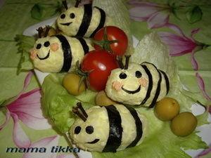 """Детские суши """"Пчёлки"""". Ярмарка Мастеров - ручная работа, handmade."""