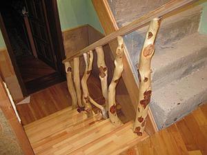 Делаем эксклюзивное ограждение лестницы. Часть 1: подборка и подгонка элементов. Ярмарка Мастеров - ручная работа, handmade.