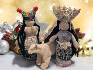 Мотаем славянскую обережную куклу «Мару» — богиню зимы. Ярмарка Мастеров - ручная работа, handmade.