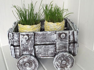 Creating Handmade Cardboard Pots. Livemaster - handmade