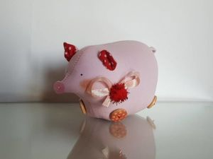 Шьем символ Нового 2019 года — Свинку. Ярмарка Мастеров - ручная работа, handmade.