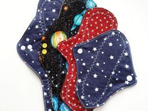 Гигиеничность тканевых прокладок. Ярмарка Мастеров - ручная работа, handmade.