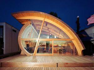 Европейские дизайнеры придумали дома-амфибии, которым наводнения нипочем. Ярмарка Мастеров - ручная работа, handmade.