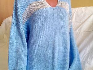 Мохеровый свитер со скидкой 28%. Ярмарка Мастеров - ручная работа, handmade.