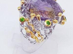 АКЦИЯ!!! Скидка 20% на кольцо « Emery»  с роскошным аметрином!. Ярмарка Мастеров - ручная работа, handmade.