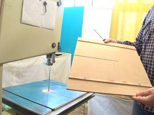 Накладная панель на ленточный станок. Приспособление для пиления радиусных деталей. Ярмарка Мастеров - ручная работа, handmade.