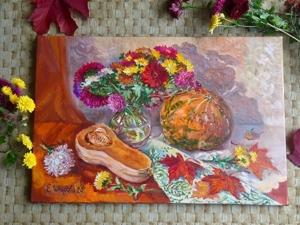 Яркий осенний натюрморт. Ярмарка Мастеров - ручная работа, handmade.