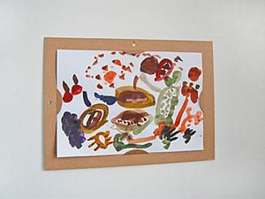 Рамочка для детских рисунков. Ярмарка Мастеров - ручная работа, handmade.