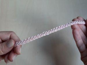 Как связать крючком эластичный наборный край. Ярмарка Мастеров - ручная работа, handmade.