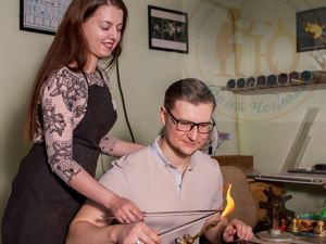 Свадебный мастер-класс в стеклодувной. Ярмарка Мастеров - ручная работа, handmade.
