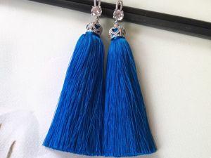 В магазине новые сережки —  кисточки!. Ярмарка Мастеров - ручная работа, handmade.