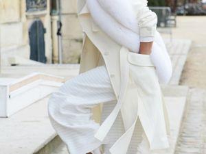 Как носить белое, когда холодно: 9 впечатляющих образов. Ярмарка Мастеров - ручная работа, handmade.
