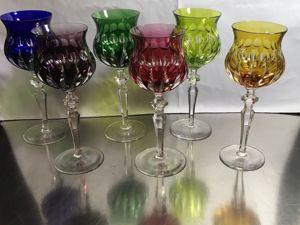 Хрусталь, стекло — бокалы очень дешево! Скидка!. Ярмарка Мастеров - ручная работа, handmade.