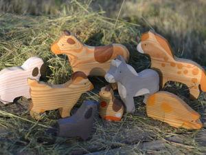 Игровой набор  «Домашние животные». Ярмарка Мастеров - ручная работа, handmade.
