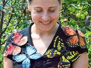 Делаем бабочку в технике валяния шерсти. Ярмарка Мастеров - ручная работа, handmade.