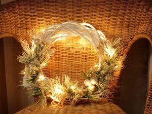 Рождественский венок своими руками. Ярмарка Мастеров - ручная работа, handmade.