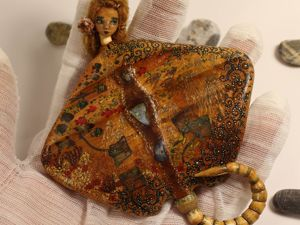 Добрый дух воды — Ао (шарнирная кукла из дерева). Ярмарка Мастеров - ручная работа, handmade.