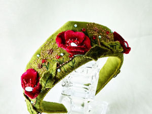 Дуэт прически и ободка. Ярмарка Мастеров - ручная работа, handmade.
