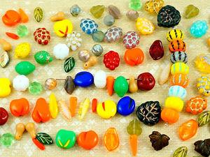 Чешские бусины фрукты. Ярмарка Мастеров - ручная работа, handmade.