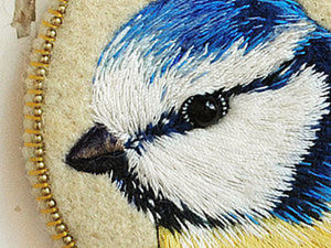 Embroidered Felt Brooches by Paulina Bartnik. Livemaster - handmade