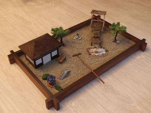 Создаем сад Дзен для медитации в миниатюре. Ярмарка Мастеров - ручная работа, handmade.