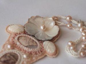 Дары моря: 5 жемчужных украшений разных цветов. Ярмарка Мастеров - ручная работа, handmade.