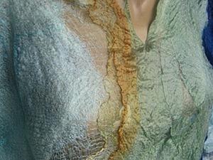 """Мастер-Класс: создаем платье из маргиланских шелков """"Русалочий ручей"""". Ярмарка Мастеров - ручная работа, handmade."""