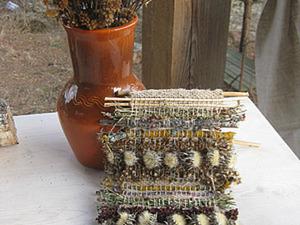 Мастер-класс: панно из трав. Ярмарка Мастеров - ручная работа, handmade.