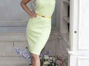 Видео-ролик, платье  «Базовое зеленое»  лето по супер-цене!!!. Ярмарка Мастеров - ручная работа, handmade.