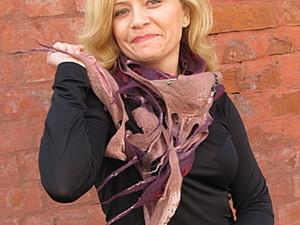 Создаем шарфик «Тиффани». Ярмарка Мастеров - ручная работа, handmade.