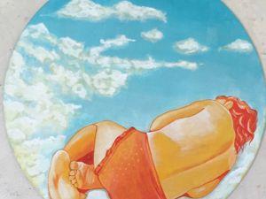 Мое солнце — обсуждение картины. Ярмарка Мастеров - ручная работа, handmade.
