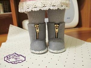 Мастер-класс: кукольные сапожки из фетра. Ярмарка Мастеров - ручная работа, handmade.