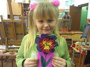 Мастер-класс: открытка с цветком. Ярмарка Мастеров - ручная работа, handmade.