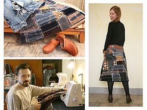 Как сшить юбку в стиле «боро». Ярмарка Мастеров - ручная работа, handmade.
