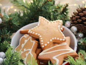 Светлое домашнее печенье к рождеству. Ярмарка Мастеров - ручная работа, handmade.