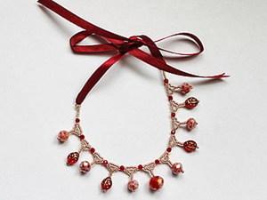 Весеннее украшение для маленькой модницы.. Ярмарка Мастеров - ручная работа, handmade.