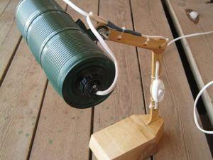 Создаем рабочую настольную лампу из консервных банок. Ярмарка Мастеров - ручная работа, handmade.