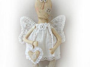 Ангел хранитель, примитивная кукла!. Ярмарка Мастеров - ручная работа, handmade.