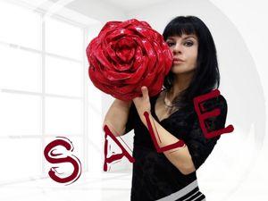 Распродажа сумок-роз + история красных роз. Ярмарка Мастеров - ручная работа, handmade.