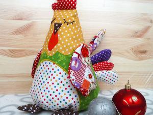 Шьем игрушку петушок «Горошек». Ярмарка Мастеров - ручная работа, handmade.
